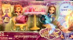 Disney Sofia the First Royal Tea Party Set NEW