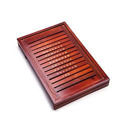 Solid Wood Reservoir & Drainage Type Kung Fu GongFu Tea Tabl