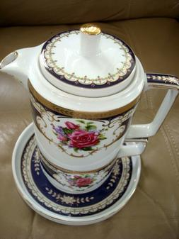SORELLE FINE PORCELAIN TEA FOR ONE SET