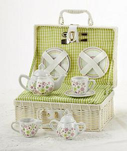 products spring flowers children's porcelain tea set with ca