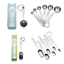 Stainless Steel Measuring Spoons Tea Coffee Measure Utensil
