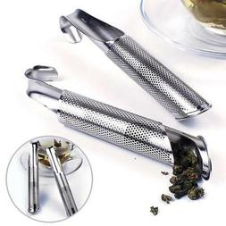 Stainless Steel Tea Infuser Pipe Strainer