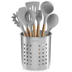 Stainless Steel Kitchen Utensil Holder, Kitchen Caddy, Utens