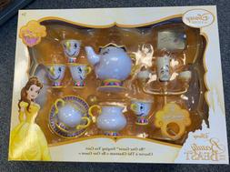 "DISNEY STORE BEAUTY AND THE BEAST ""BE OUR GUEST"" SINGING TEA"