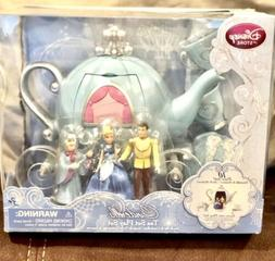 DISNEY STORE CINDERELLA LIMITED EDITION TEA SET 10 Piece Set
