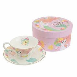 Disney Store Japan Limited Little Mermaid Ariel Tea Cup & Sa