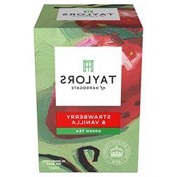 Taylors of Harrogate Strawberry & Vanilla Green Tea, 20 Teab