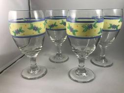 Pfaltzgraff - SUMMER BREEZE  - ICED TEA GLASSWARE - Set of 4