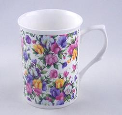 Sweet Pea Chintz - Fine English Bone China Mug - England