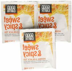 Good Earth Sweet  Spicy Herbal  Black Tea, 18 Tea Bags, 1.43