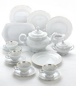 Wawel Tea with Grace 16-Piece Fine China Tea Set for Childre