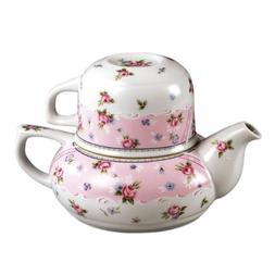 Tea for One - Cup, Teapot - Petit Rose By Andrea Sadek