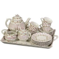 Tea with Rosie Porcelain Tea Set by Sadek