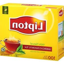 Lipton 100% Natural Tea Bags 100 oz