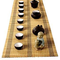 YOY Tea Ceremony - Kung Fu Tea Set Mat Natural Bamboo Tablem