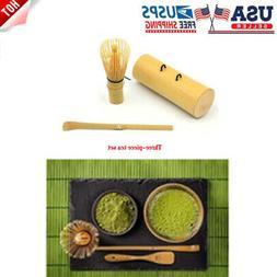 Tea ceremony tableware tea fork bamboo spoon matcha tool set