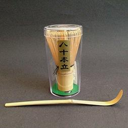 Tea Ceremony Utensil 80 Count Wisk Whisk w/ Chashaku Bamboo