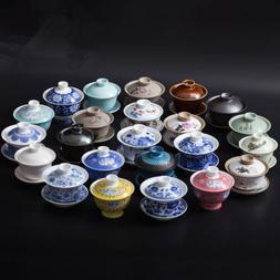tea cup and saucer gaiwan porcelain Chinese gaiwan tea cup t