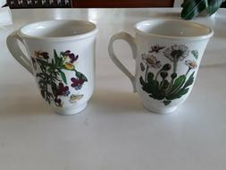 Portmeirion tea cups. Set of 2.  New