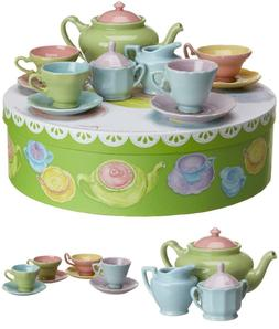 Rosanna Tea For Me Too, Gift-Boxed Children'S Tea Set, Servi