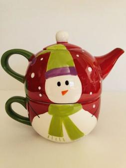 Tea For One Stackable Tea Cup Teapot Set Pier 1 Imports SNOW