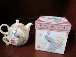 tea for one stackable teapot and cup