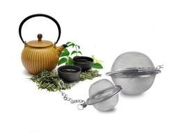 Tea Infuser Ball Mesh Loose Leaf Herb Strainer Stainless Ste