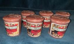 Yankee Candle - Tea Light Votives Set Of 6 - Hazelnut Coffee