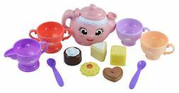 Tea Party Cookie Food Play Set Tea & Treats For 2 - Kids Gir