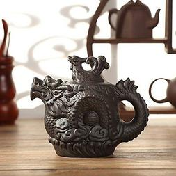 XDOBO Tea pot Dragon and Phoenix Ceramic Chinese Traditional