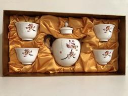 Teavana Tea Pot Set #44 Lotus Blossom