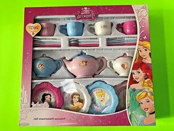 Disney Tea Pots Sets Princess Dinnerware 26 Piece SET Bowl C