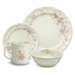 Pfaltzgraff Tea Rose 32 Piece Dinnerware Set