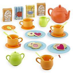Just Like Home Tea Set - Orange