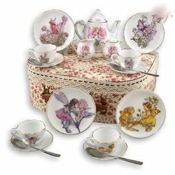 Reutter Porcelain - Tea Set In A Case - Medium - Fairies