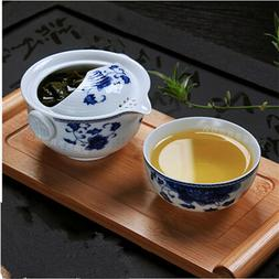 Tea set Include 1 Pot 1 Cup elegant gaiwan easy teapot kettl