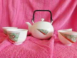 Tea Set Japanese Traditional Fine Bone China