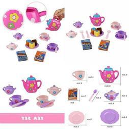 Tea Set Party Pretend Playset For Kids Teapot Play Bath Toy