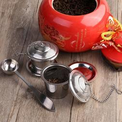OUNONA Tea Strainer Loose Tea Infuser 304 Stainless Steel Te