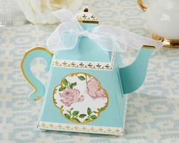 Tea Time Whimsy Teapot Favor Box