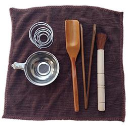Arlai Tea Tools 6 Pcs Set Gongfu Tea Ceremony Tea Accessorie