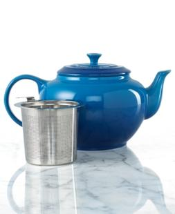 Le Creuset 1-Qt. Teapot with Stainless Steel Infuser