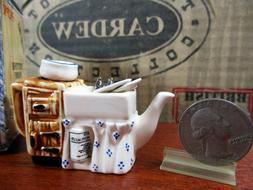 Cardew Teapot Tiny Kitchen Sink Miniature Vintage England NI