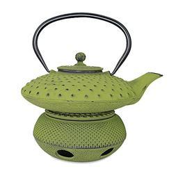Teapot Trivet Iron Cast Warmer + Japanese Antique 24 Fl Oz G