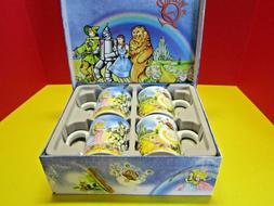The Wizard of Oz Paul Cardew 4 pc Set Coffee Tea Hot Chocola