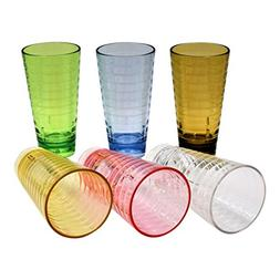 Acrylic Tumblers Break-Resistant/Premium Quality Cup/BPA Fre