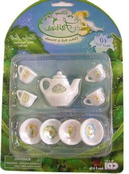 Disney Tinker Bell Mini Tea Set Playset