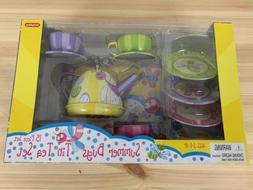 Toddler Toy Schylling Summer Bugs Tin Tea Set Kids Play Game