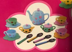Toddler Toys Tea Set 18 Pieces Ages 3+ By Just Kidz NEW
