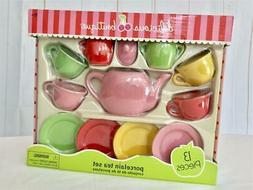 Delicious Boutique Toy Porcelain Tea Set for Children NEW 13